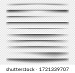 realistic shadows. square...   Shutterstock .eps vector #1721339707
