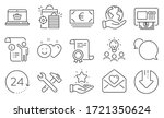 set of business icons  such as...   Shutterstock .eps vector #1721350624
