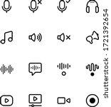 audio and multimedia vector...