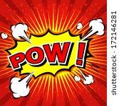 Pow    Comic Speech Bubble ...