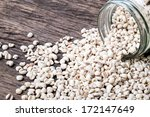 job's tear seed in the glass... | Shutterstock . vector #172147649