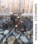 Abandoned Rusty Tricycle...