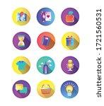 bundle of miscellaneous set...   Shutterstock .eps vector #1721560531
