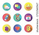 bundle of miscellaneous set...   Shutterstock .eps vector #1721560567