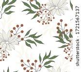 Light Floral Seamless Pattern....