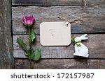 happy easter background | Shutterstock . vector #172157987