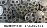 Film Reels And Cans. Video ...