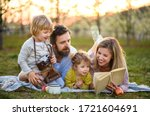 Family And Small Children With...
