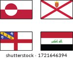 1 st country is greenland. 2nd... | Shutterstock .eps vector #1721646394