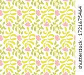 simple botanical ornament in... | Shutterstock .eps vector #1721675464