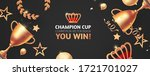 you win  champion background... | Shutterstock .eps vector #1721701027