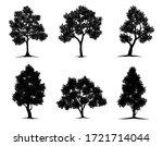 Collection Black Tree Symbol...