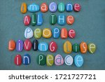 Imagine All The People  Living...