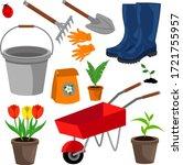Gardener\'s Kit  Rake  Pitchfor...