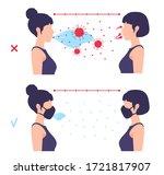 coronavirus contamination...   Shutterstock .eps vector #1721817907