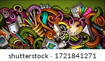 designer hand drawn doodle...   Shutterstock .eps vector #1721841271