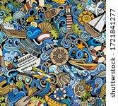 cartoon cute doodles hand drawn ...   Shutterstock .eps vector #1721841277