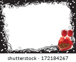 valentine's day. vector of two... | Shutterstock .eps vector #172184267