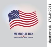 Memorial Day In Usa With...