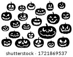 Jack Pumpkins Icons Set....