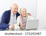 happy senior citizen couple...   Shutterstock . vector #172192487
