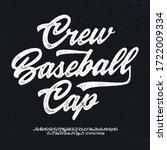 """crew baseball cap""  original... | Shutterstock .eps vector #1722009334"