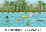 Baby In Papyrus Basket Swims In ...