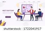 office workflow concept.... | Shutterstock .eps vector #1722041917