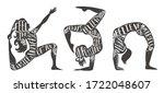 sport fitness typographic...   Shutterstock .eps vector #1722048607
