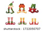 Elf Legs In Shoes With Crooked...