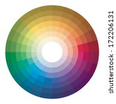 color wheel | Shutterstock .eps vector #172206131
