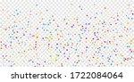 festive confetti. celebration... | Shutterstock .eps vector #1722084064
