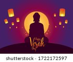 Happy Vesak Day Design With...
