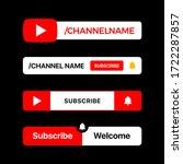 youtube button set. youtube...