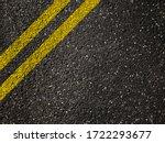 asphalt road with double yellow ...   Shutterstock . vector #1722293677