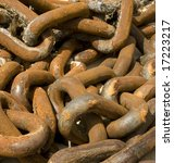 Heavy Duty Discarded Chain From ...