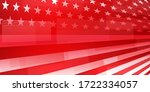 usa independence day abstract... | Shutterstock .eps vector #1722334057