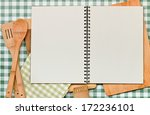 double page spread blank ring...   Shutterstock . vector #172236101