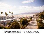santa monica highway | Shutterstock . vector #172238927