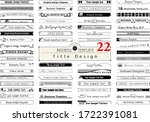 business template. title design ... | Shutterstock .eps vector #1722391081