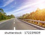 newly built highway | Shutterstock . vector #172239839