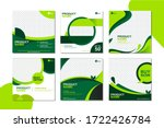 green social media banner... | Shutterstock .eps vector #1722426784