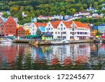 scenic summer panorama of the... | Shutterstock . vector #172245677