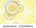 smooth abstract patterns with... | Shutterstock .eps vector #1722483061