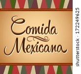 Diário dos Sonhos de EmersonPawoski - Página 27 Stock-vector-comida-mexicana-mexican-food-spanish-text-vector-lettering-vintage-background-172249625