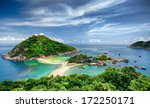 view point from top of mountain ... | Shutterstock . vector #172250171