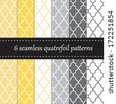Six Seamless Geometric Pattern...