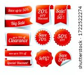 sale label  tags set... | Shutterstock . vector #1722522274