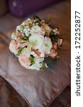 pink and white wedding bouquet  | Shutterstock . vector #172252877
