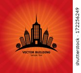 vector building | Shutterstock .eps vector #172256249